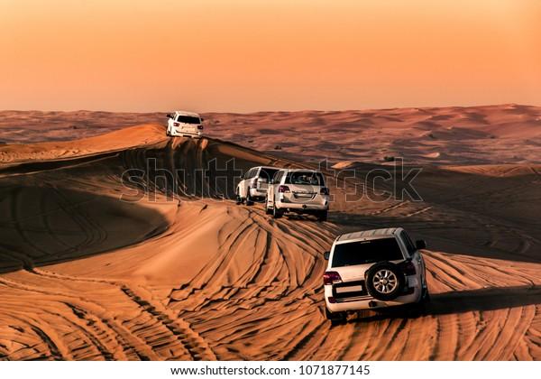 The desert of Dubai, UAE
