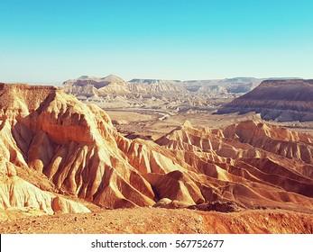 Desert dunes in Israel