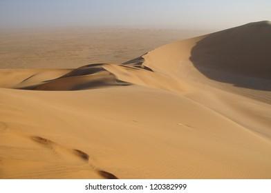 Desert dunes in Namibia