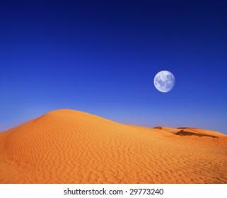 desert at evening