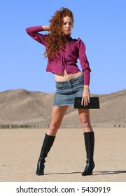Desert Fashion Model