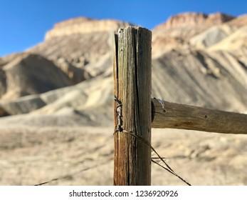 Desert Fence Post