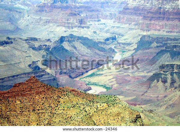 Desert, Grand Canyon, Valley,Backdrop