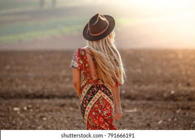 Desert Gypsy Girl