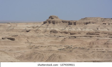Desert in Iraq near Karbala city