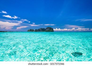 Desert Island Sunny Waters