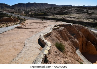 The desert land of North Africa. Tunisia