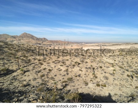 Desert Land Scape El Paso Tx Stock Photo Edit Now 797295322
