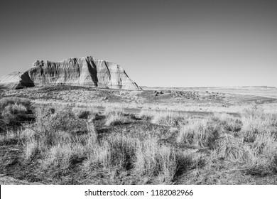 Desert landscape off Route 66.