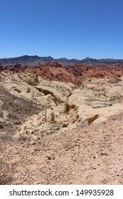 Desert Landscape in Valley of Fire, Nevada