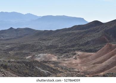 Desert Lava Rock Landscape