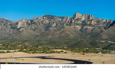 Desert Mountain Landscape in Tucson Arizona