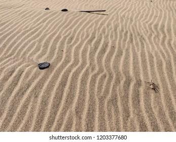 Desert natural sand