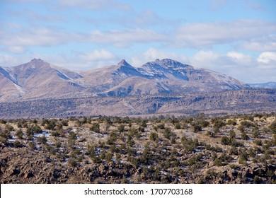 Desert near Los Alamos in NM