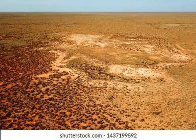 Desert plain in Australian outback