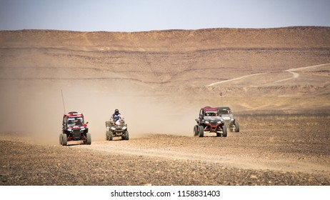 Desert rally in Marocco