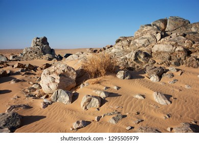 """The desert region of Bennichab and Akjoujt in Mauritania is well known for its gold nuggets, which triggered a """"gold rush"""" in 2016."""