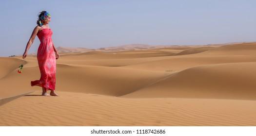 Desert rose. Merzouga. Morocco