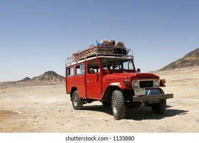 Desert Rover in Red