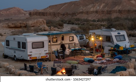 Desert RV- Caravan Vacation- Mizpe Ramon, Israel