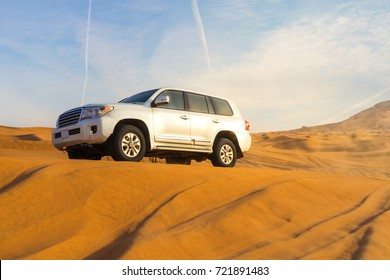 Desert safari in Dubai, UAE.