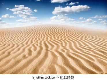 desert sahara landscape