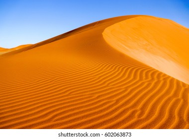 Desert sand dune landscape background