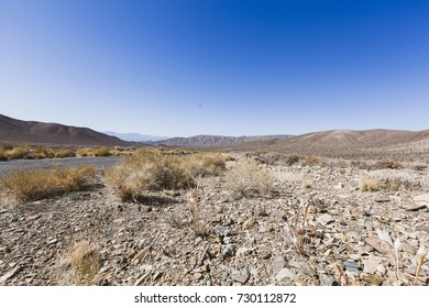 Desert scene in Death Valley