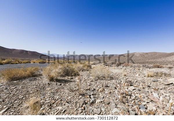 Desert scene in Death Valley
