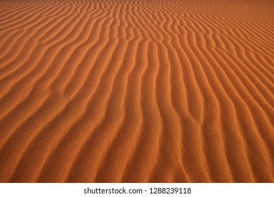 Desert structure, the surface of the red dune with sand waves. Namib Naukluft National Park, Namibia.