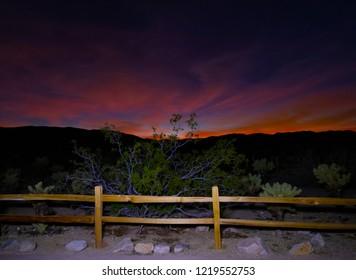 Desert Sunset Sky