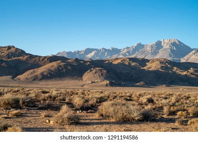 desert valley Eastern Sierra Nevada mountains