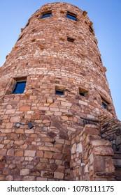 Desert View Tower at Grand Canyon National Park, Arizona, USA