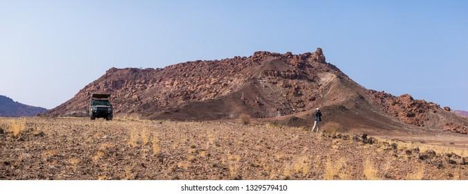 desert view, Twyfelfontein, Namibia