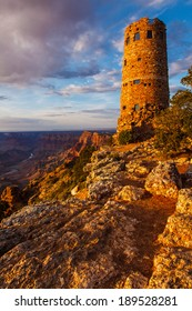 Desert View Watchtower Grand Canyon National Park Arizona