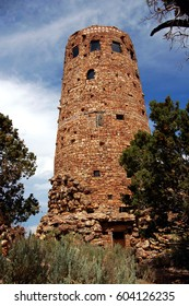 Desert View Watchtower at Grand Canyon National Park in Arizona