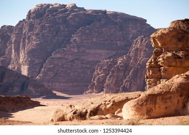 Desert Wadi Rum, Jordan