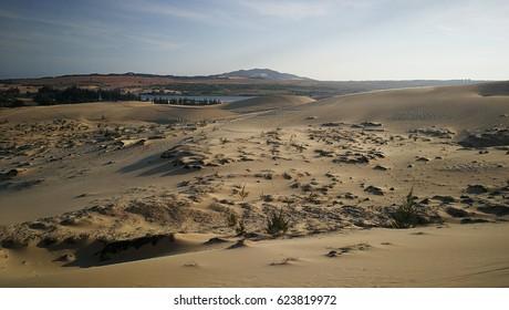 desert white sand dune 1
