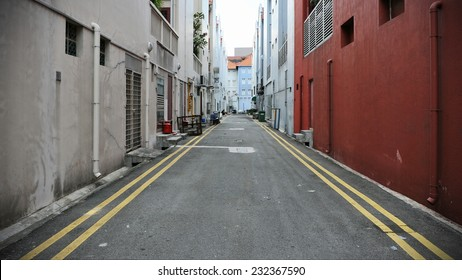 Deserted Alleyway Background