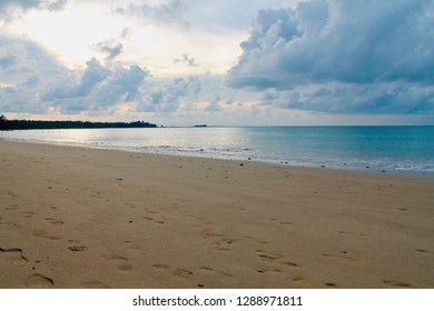 Deserted beach on a Thailand island