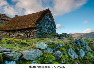 Deserted Old Famine Cottage