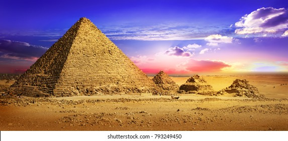 Deserted place in Giza