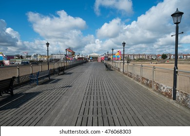 Deserted Skegness pier