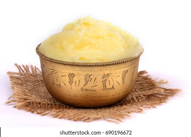Desi ghee or clariified liquid butter, cooking oil, pure ghee