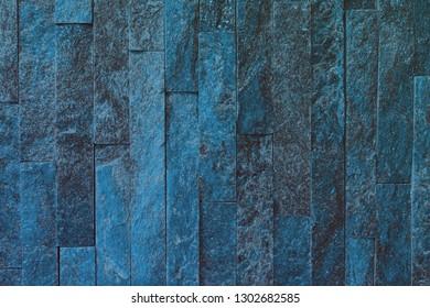 design aged light blue natural quartzite stone bricks texture for any purposes.