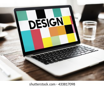 Design Art Creative Multicolor Word Concept