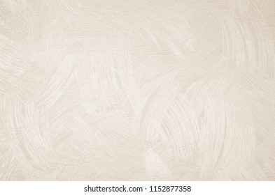 Design bedroom wall or reception room decorated with a wallpaper texture background. Abstract linen tone color beige, sepia and with cream. Vintage pattern fabric and cardboard surface.