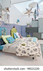 design of colorful children room