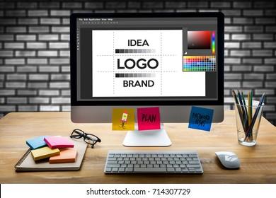 design creative creativity work brand designer sketch graphic  logo design Business concept