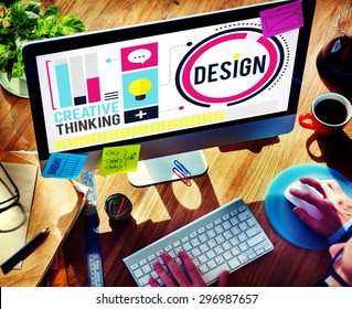 Design Creativity Thinking Ideas Designer Concept